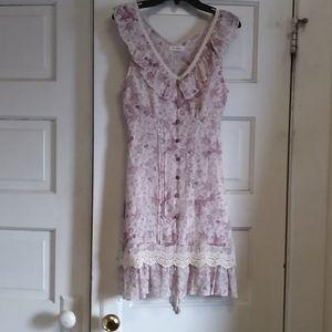 Blu Pepper, Small, sleeveless, floral print